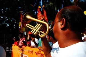 Music in Mongol Shuva Jatra