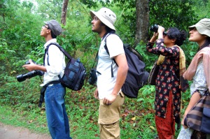 Birdwatchers group