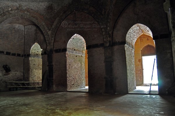 From inside of the Masjid