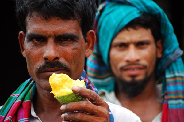 Local people of Kansat also love mangos