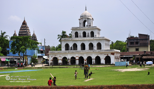 Shiva Temple, Dola Temple and young boyes
