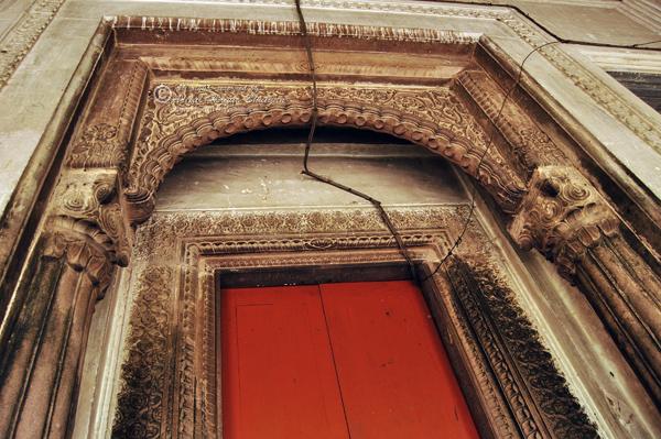 A door to go inside